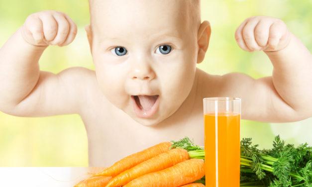 Промышленные соки для малышей