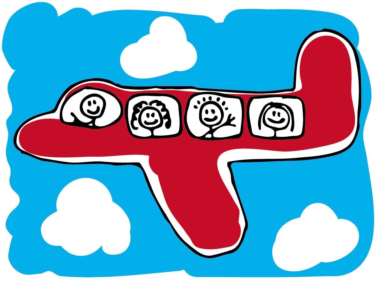 «Мне бы в небо» или Путешествия с детьми  самолетом